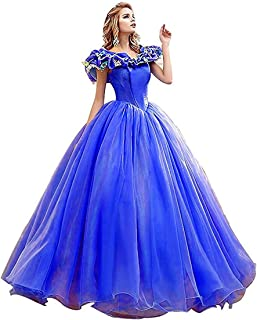 Princess Sweet 16 Butterfly Ball Gown Cinderella Quinceanera Dress