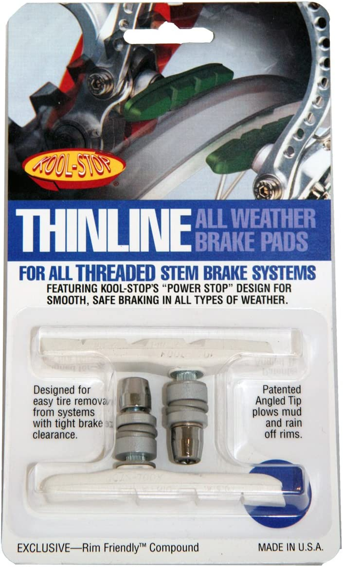 Kool Stop Thinline Threaded Brake Pad