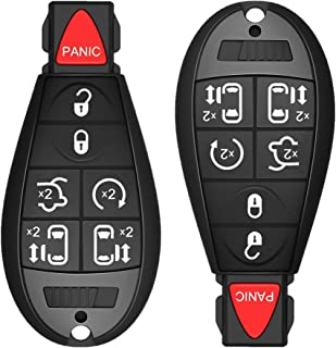 $22 » KRSCT 7-Buttons Car Key Fob Fit for Chrysler Town and Country 2008-2015 / Grand Caravan 2008-2014 / FCC ID: M3N5WY783X