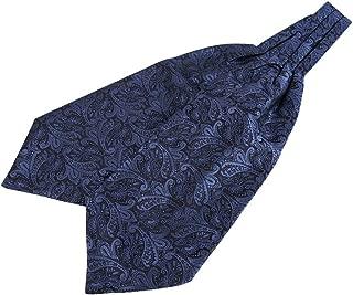 Men Ascot Tie Cravat Satin Scarf Self Tie Wedding Necktie