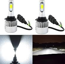 Alla Lighting HB4 9006 LED Headlight Bulbs 8000lm Xtreme Super Bright 6500K Xenon White High Power Mini LED 9006 Headlight Bulb Low Beam Headlamp Conversion Kits Lamps Replacement