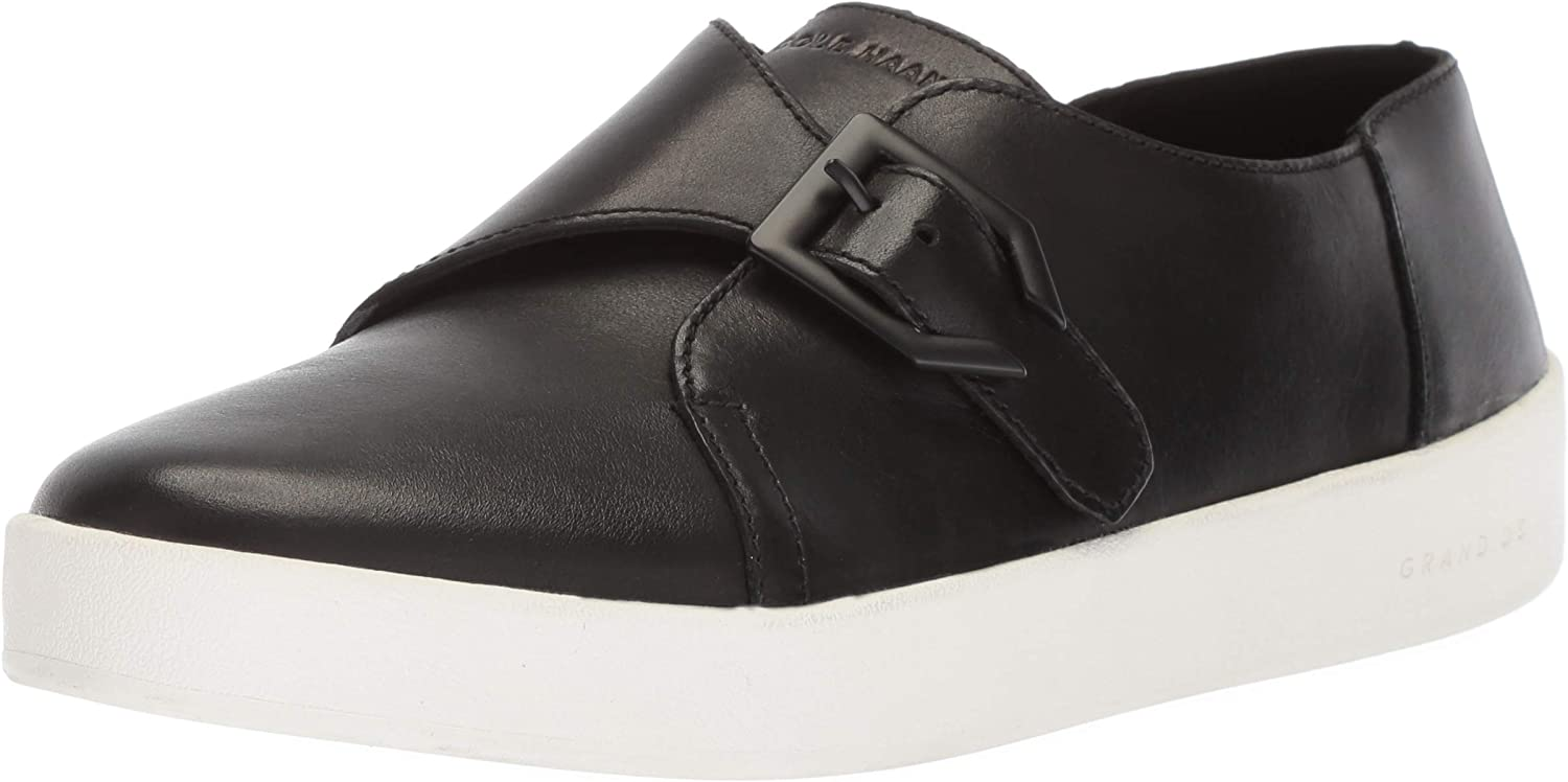 Cole Haan Womens Grandpro Spectator Monk Slip on Loafer