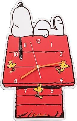 Vandor 85189 Peanuts Snoopy Shaped Deco Wall Clock