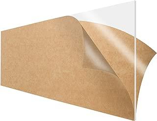 SimbaLux Acrylic Sheet Clear Cast Plexiglass 12