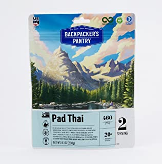 Backpacker's Pantry Pad Thai, Two Serving Pouch, (Packaging May Vary)