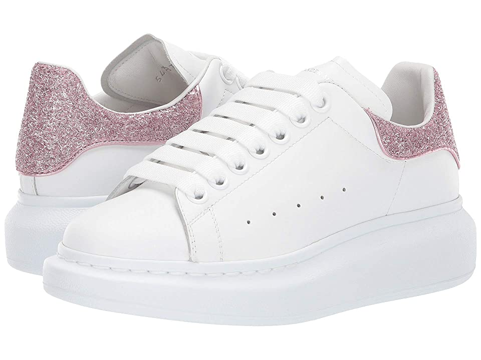 Alexander McQueen Oversized Runner Sneakers (White/Multi) Women