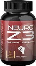 Superior Brain Performance Supplement | Neuro Z3 Premium Nootropic by RAM ADVANTAGE | Designed to Support M...