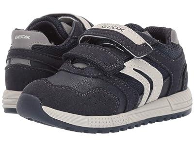 Geox Kids Alben 4 (Toddler) (Navy/Grey) Boys Shoes