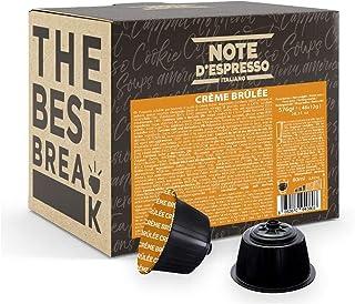 Note d'Espresso - Crème Brûlée - Capsules Exclusivement Compatibles avec les Machines NESCAFE* DOLCE GUSTO* - 48 caps