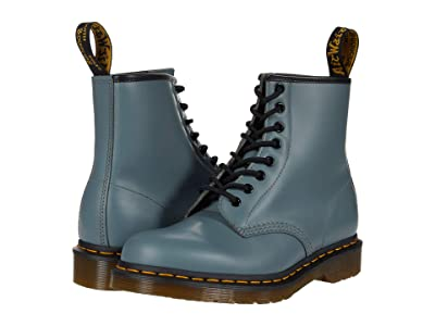 Dr. Martens 1460 (Steel Grey Smooth) Lace-up Boots