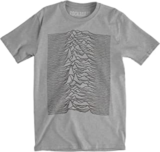 Joy Division Unknown Pleasures Vintage Look Mens Tri-Blend Fitted T-Shirt