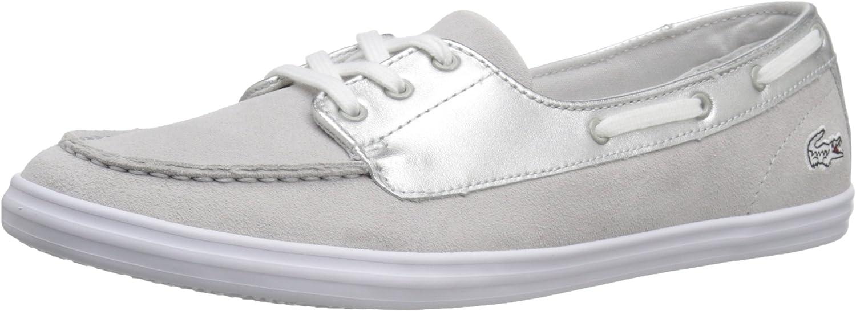 Lacoste Womens Ziane Deck 116 1 Fashion Sneaker