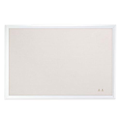 761086b8c68 U Brands Cork Linen Bulletin Board