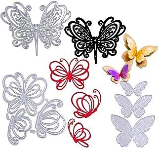 Marco mariposa troquelado plantilla Scrapbooking Manualidades Hágalo usted mismo Papel Tarjeta de grabación en relieve