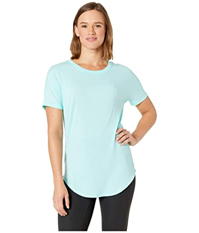 The North Face Workout Short Sleeve Tee (Mint Blue) Women