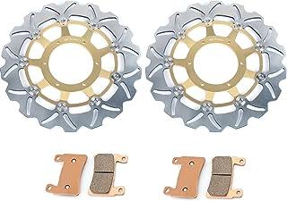TARAZON Lot de 2 Disques de Frein Avant Moto pour S.U.Z.U.K.I GSF 1200 Bandit S GS 1200 SS//Z GSX 1200 FS