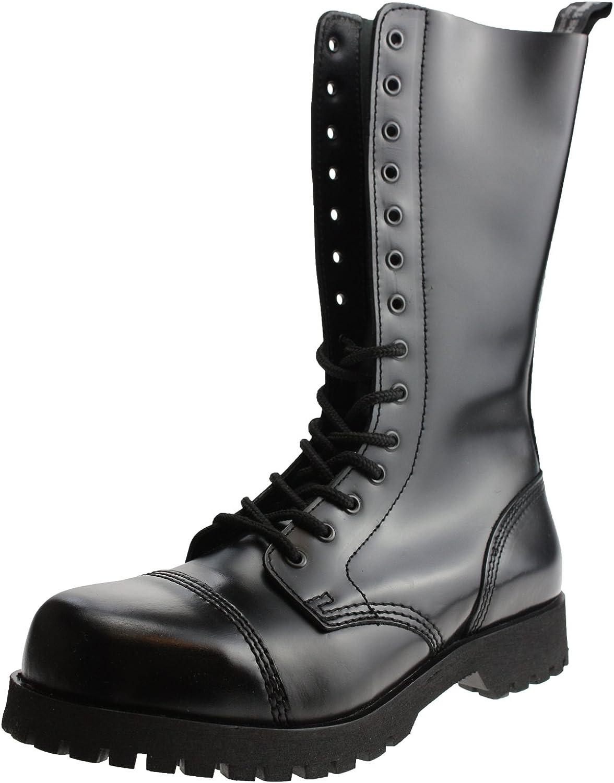 Braces Boots 14 Hole Rangers Black