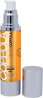 Peter Coppola Argan Oil (1.7oz) Anti Frizz Treatment Serum for Smoothing and Softening for All Hair Types. Adds Shine and Block Humidity