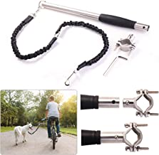 ODIER Hands Free Bike Dog Leash Quick Release Bicycle Dog Exerciser Leash 500-lbs Pull Strength