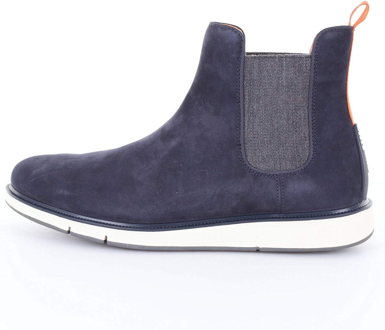 SWIMS Men's 休日 Motion Chealse Chelsea Grey 336-Nv 高い素材 Navy Blue Boots