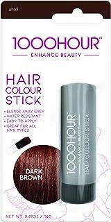 1000 HOUR Hair Colour Stick, Dark Brown, 30g