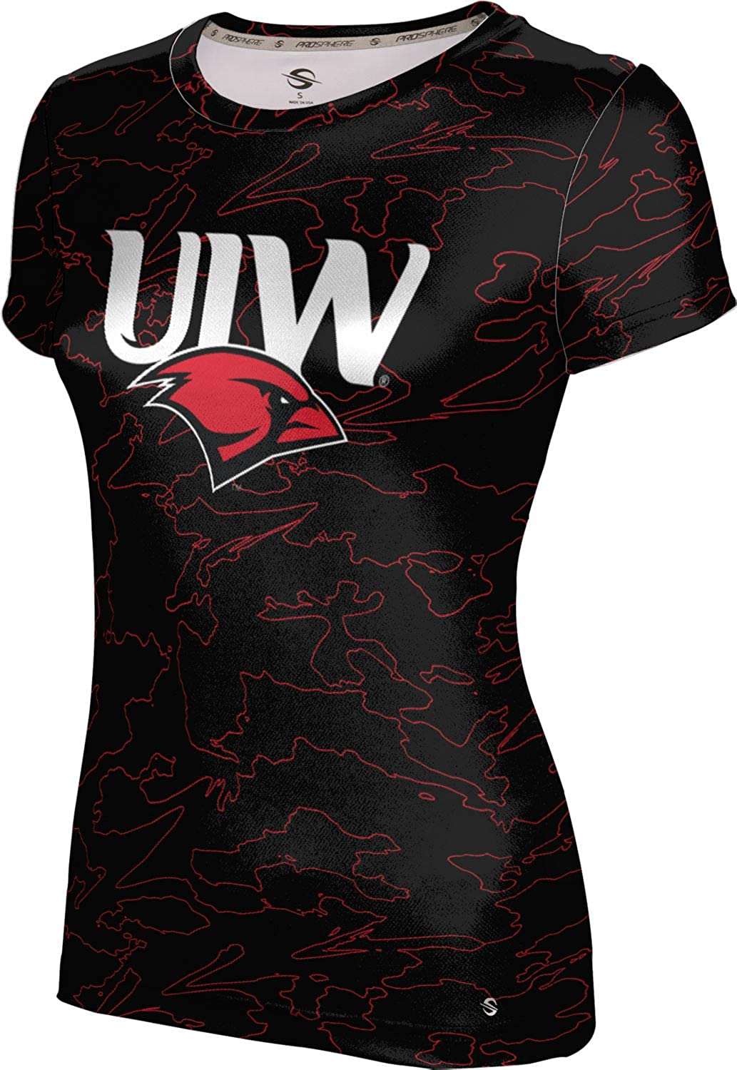 ProSphere University of The Incarnate Word Girls' Performance T-Shirt (Topography)