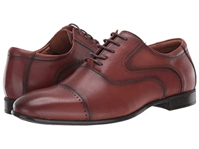Steve Madden Lowkey Oxford (Cognac Leather) Men