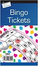 600 Bingo Game Single Ticket Card Flyer Pads Book 100 Sheet Security Coded