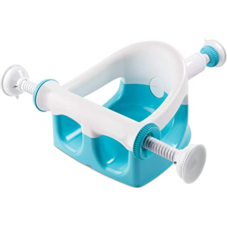 Summer My Bath Seat (Aqua) - Baby Bathtub Seat for Sit-Up Bathing, Provides Backrest Support and Suction Cups for Stability - This Baby Bathtub is Easy to Set-Up, Remove, and Store
