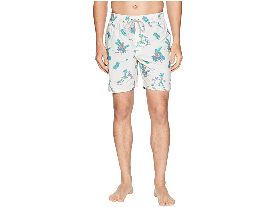 Rip Curl Central Volley Boardshorts (White) Men