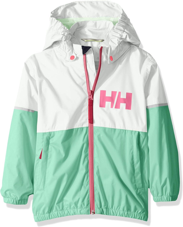Helly-Hansen Kids Block It Waterproof Rain Jacket with Hood