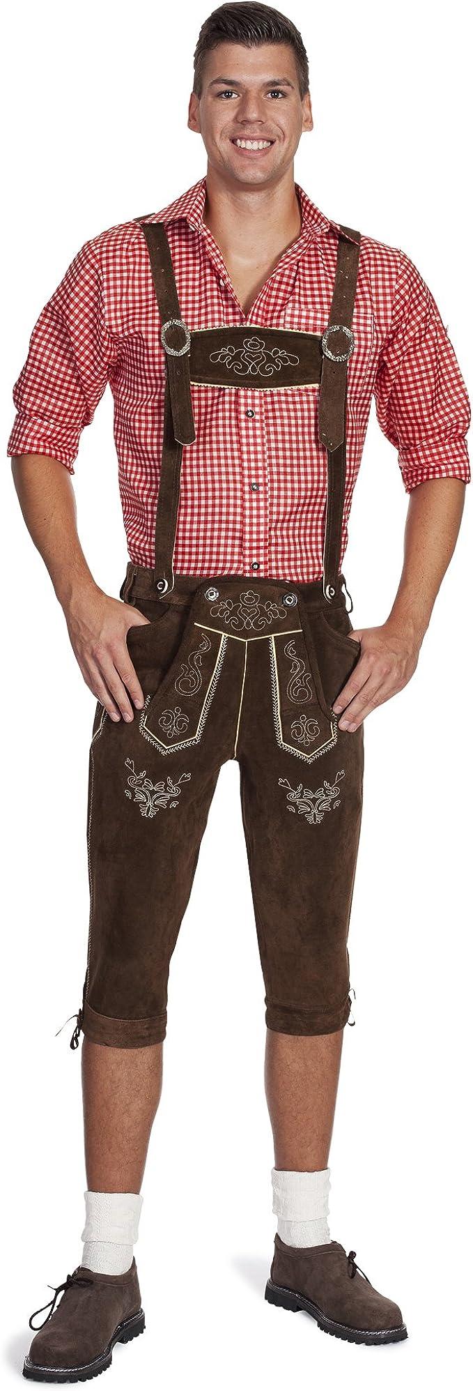 12 opiniones para Gaudi-Leathers E100, Pantalones de Cuero Regionales Para Hombre