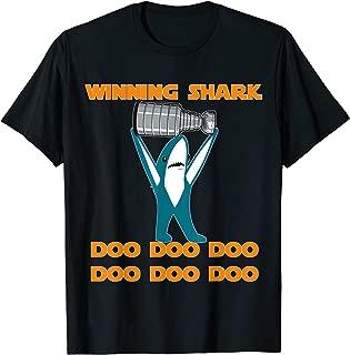 Cup Winning Shark - Hockey Playoffs