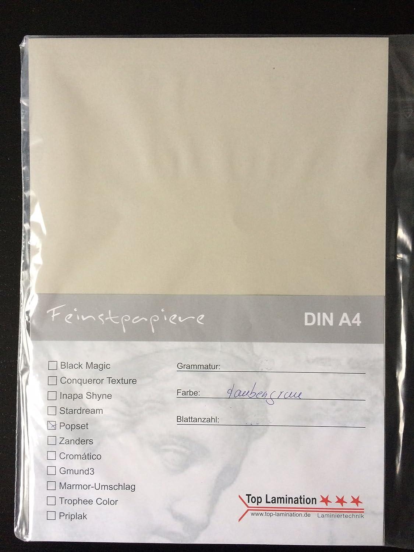 100 Blatt DIN A2 graues (taubengrau) Papier 170g 170g 170g m² von Top Lamination - komplett durchgefärbt, für Bastelarbeiten und vieles mehr B01M062557  | Günstig  d075ba