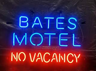 Neon Sign Bates Motel for Man Cave Room Bedroom Wall Decor, 17