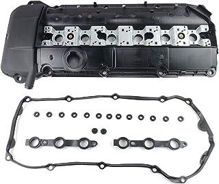 11121432928 Motorventildeckel, Zylinderkopfhaube und Dichtung für E46 E39 E53 323i 325i 330 328i Z3 Z4 X5 11121748630