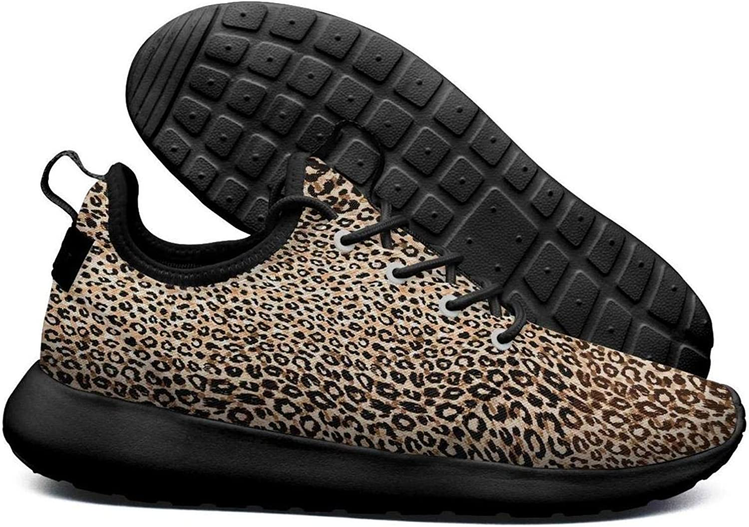 Leopard print zebra texture Plimsolls for Women Print Breathable and Lightweight Walking shoes