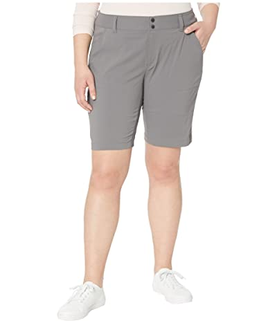 Columbia Plus Size Saturday Trailtm Long Short (City Grey) Women