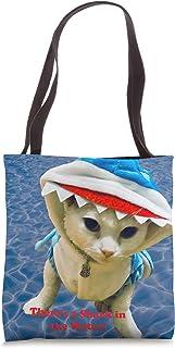 Cat Shark Tote Bag