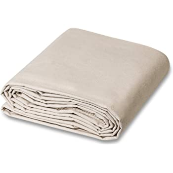 CCS CHICAGO CANVAS & Supply All Purpose Canvas Cotton Drop Cloth, 9 by 12 Feet