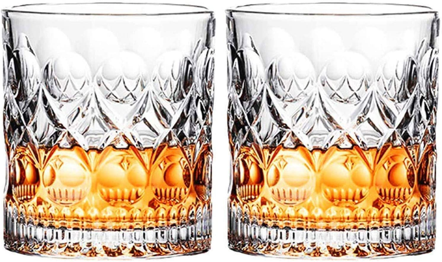 Ranking TOP9 PARACITY Whiskey Glasses Set of 2 oz 9.5 Fashioned C Glass Popularity Old