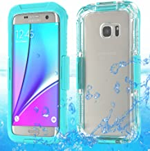 Galaxy S7 Edge Waterproof Case, AICase Armor Dust Proof Shockproof Snow Proof Case Crystal Clear Full Body Protective Cove...