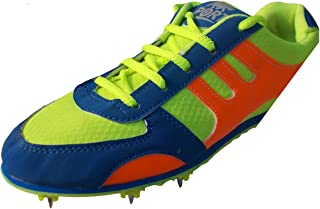 Port Unisex Adult Green Running Shoes-8 UK (42 EU) (9 US) (Half Spike)