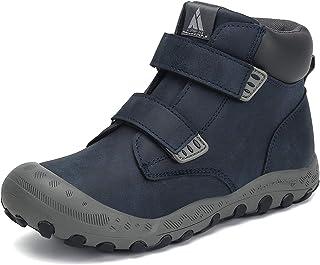 أحذية المشي لمسافات طويلة للأولاد والفتيات من ميشانشا، حذاء برقبة عالية وإغلاق بحلقة وأربطة للمشي ورحلات السفاري