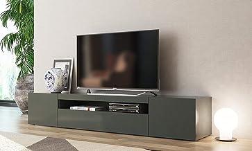 L-A-P mobile soggiorno Bianco : 200-36,2-40 portatv design.Dimensioni in cm Porta tv moderno Mojito