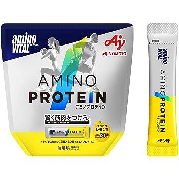 アミノバイタル アミノプロテイン レモン味 30本入パウチ