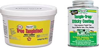Tanglefoot Bundle 2 Products Tree Insect Barrier Tub + 8-Ounce Tangle-Trap Brush On Sticky Trap Coating