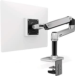 Ergotron – LX Desk Monitor Arm – 25-Inch Extension, Polished Aluminum