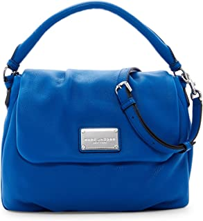 Marc Jacobs Classic Leather Shoulder Bag (Salton Sea)