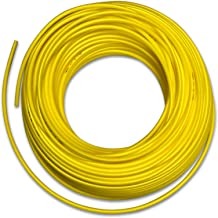 Food Grade 1/4 Inch Plastic Tubing for RO Water Filter System, Aquariums, Refrigerators, ECT (30 Feet, Yellow)